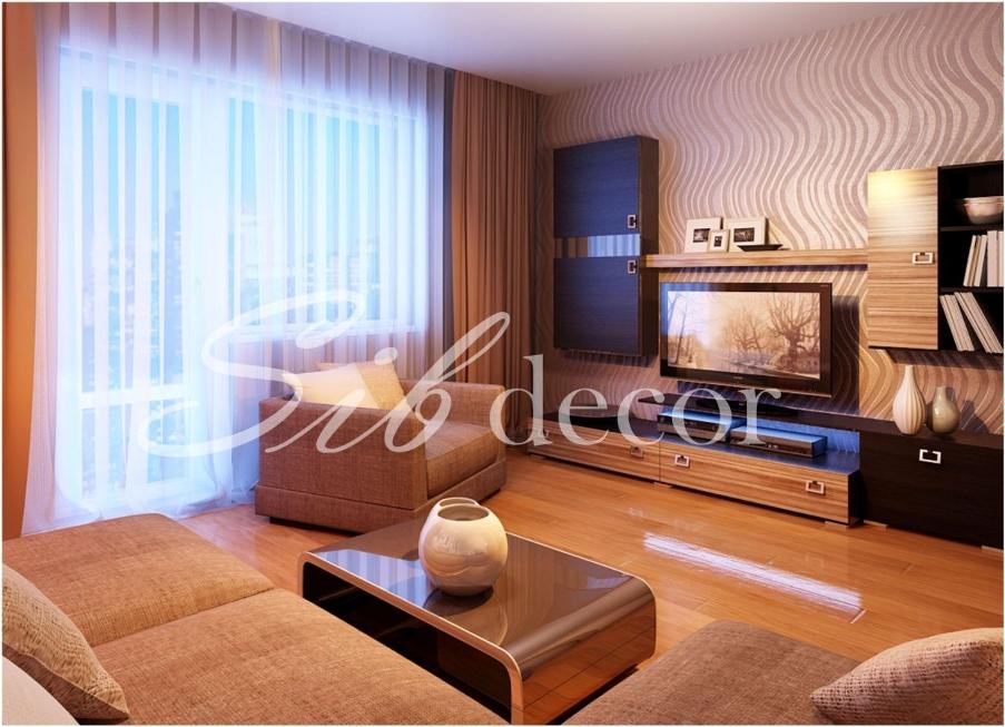 Дизайн стандартной гостиной в квартире фото
